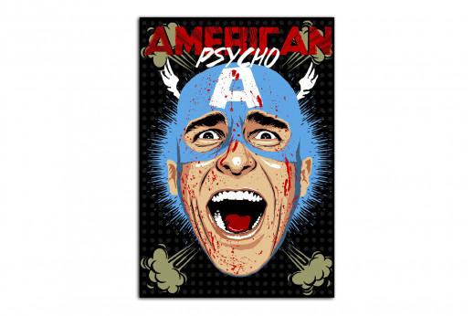 Постер Американ Психо
