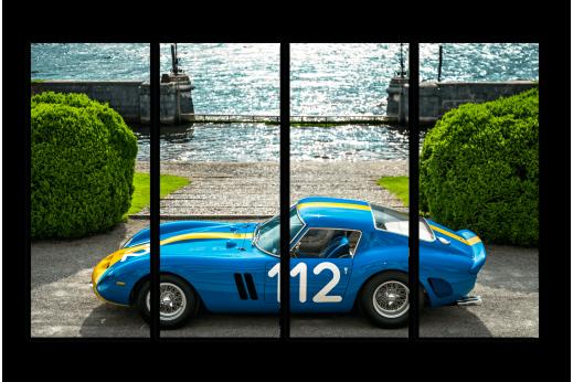 Модульная картина Ferrari GTO