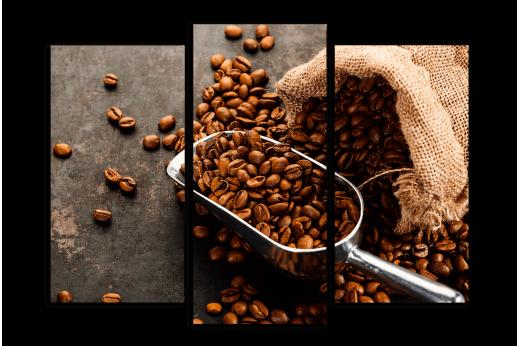 Модульная картина Зерновой кофе